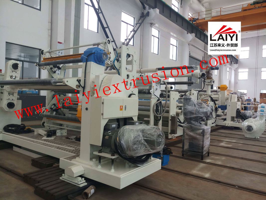Pneumatical Paper Laminate Sheet Rolling Machine 8-45μM Coating Thickness