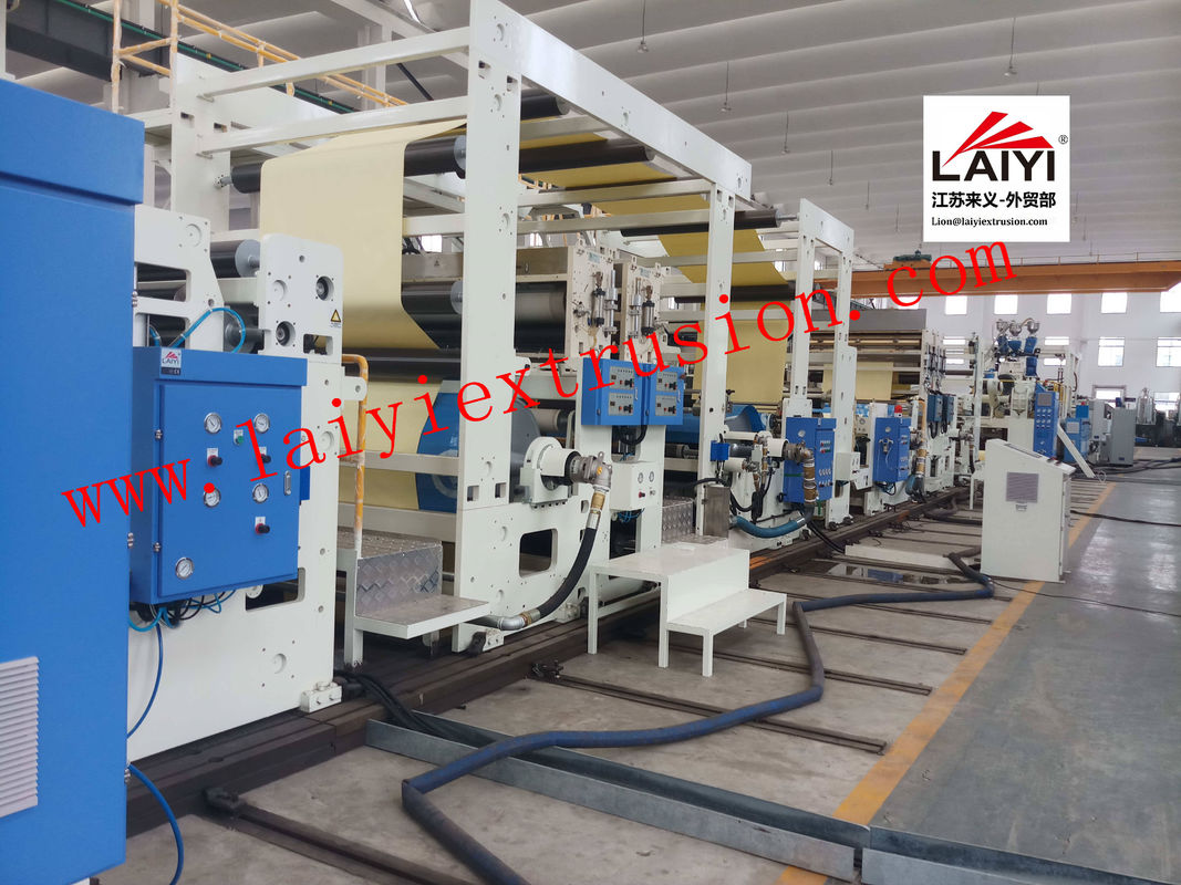 High Gloss Mechanical Paper Coating Machine For Paper Making Industry
